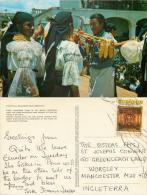 Otavalo Indian Women, Ecuador Postcard Posted 1972 Stamp - Ecuador