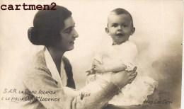S.A.R. LA PRINCIPESSA IOLANDA DE SAVOIA E LA FIGLIA CONTna LUDOVICA CAV. CERRI ITALIE ITALIA FAMILLE ROYALE - Case Reali