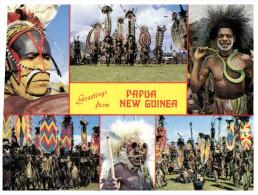 (315) Papua New Guinea Warrior - Papua-Neuguinea