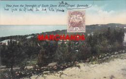 Bermudes Bermuda View From The Verandah Of South Shore Hotel Paget éditeur Phoenix Drug Hamilton - Bermudes