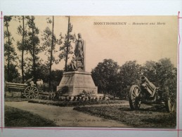 Montmorency, Monument Aux Morts - Montmorency