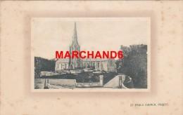 Bermudes Bermuda St Pauls Church Paget éditeur J H Bradley Hamilton - Bermudes