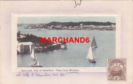 Bermudes Bermuda City Of Hamilton View From Windam éditeur J H Bradley Hamilton - Bermudes
