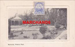 Bermudes Bermuda Victoria Park éditeur J H Bradley Hamilton  Kiosque A Musique - Bermudes