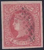 ESPAÑA 1864 - Edifil # 64 - Precio De Cat.: €3.50 - 1850-68 Kingdom: Isabella II