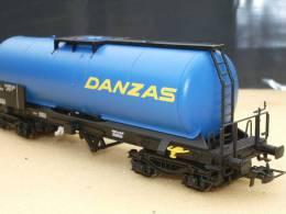 "ELECTROTREN 5870K : Wagon Citerne SNCF ""DANZAS"" - Wagons Marchandises"