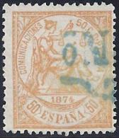 ESPAÑA 1874 - Edifil #149 - VFU - 1873-74 Regencia