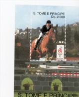 Sao Tome 1996-JO Atlanta-Equitation-MI B307***MNH
