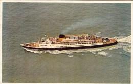 M/S Reine Elisabeth - Dover-Ostend Line - 1960 - Paquebots