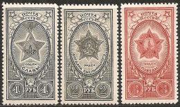 Russia 1945 Nuovo** - Mi.948/0  Yv.964/6