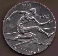 FINLANDE 50 MARKKAA 1983 1st World Athletics Championships ARGENT SILVER - Finlande
