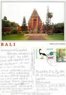 Taman Ayun Temple, Bali, Indonesia Postcard Posted 1999 Stamp - Indonesië