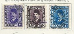Egypt 1934 Used - Egypt