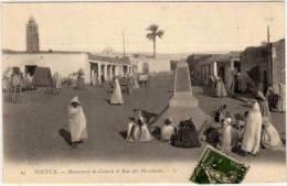 TOZEUR - Monument De Canova Et Rue Des Marchands  (68135) - Tunisie
