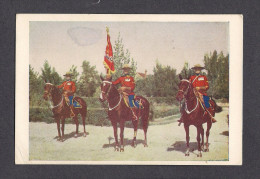 POLICE - ROYAL CANADIAN MOUNTED POLICE - R.C.M.P. - GUIDON AND ESCORT - Police - Gendarmerie