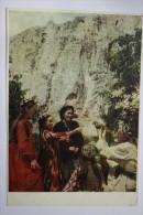 UZBEKISTAN MOUNTAINS - HALCONEROS / FAUCONNIER / FALCONER / FAUCON 1955 - Uzbekistan