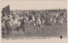 Cheiks Et Goums à La Grande Fantasia - Postcards