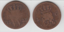 **** PAYS-BAS - NETHERLANDS - 1 CENT 1823 B **** EN ACHAT IMMEDIAT - [ 3] 1815-… : Kingdom Of The Netherlands