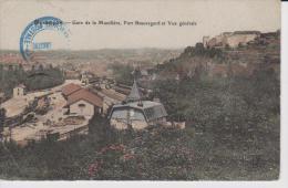 25=BESANCON     Gare De La Mouillère , Fort Beauregard Et Vue Générale  ( Angle Haut Gauche Corner ) - Besancon