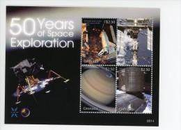 Grenada 2008-50 Ans De L'exploration De L'espace-feuillet***MNH
