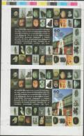 O)2010 PERU, RIVA AGUERO-INSTITUTE, CRAFTS, PROOF, LIGHTLY FOLD, MNH - Peru