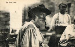 CORSE (20) Type Corse Homme Fumeur De Pipe Gros Plan - France