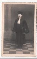 ALES (GARD) ? CARTE PHOTO DU JOUR DE LA PRESTATION DE SERMENT D'UN AVOCAT 1933 - Alès