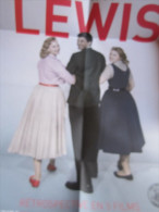 Dépliant-Affiche (42-58 Cm) : Rétrospective Jerry Lewis Avec Une Carte - Cinemania