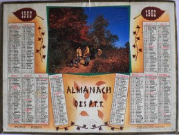 CALENDRIER ANNEE 1962 - Bouches-du-Rhône - Série N° 2 - Calendrier OLLER N° 14 - Calendriers