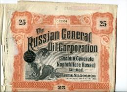 Russian Oil  Numero  C32354 - Russie