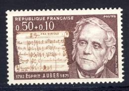 A VOIR!!!** N°1667  De 1971  SCAN CONTRACTUEL RECTO-VERSO - France
