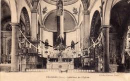 FRAISANS  (Jura)  -  Intérieur De L' Eglise - France