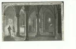LOBBES La Crypte De L´ Eglise Saint Ursmer . Album De Lavis Attribué à Jean De Vaere ( 1822 ) - Lobbes