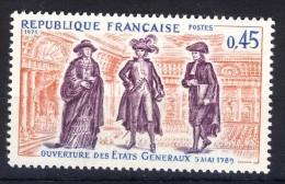 A VOIR!!!** N°1678  De 1971  SCAN CONTRACTUEL RECTO-VERSO - France