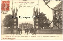 88 - SAINT-ÉTIENNE-Lès-REMIREMONT - Entrée De La Caserne Victor / Fête SIDI BRAHIM / Chasseurs + RARE / PAS Sur Delcampe - Saint Etienne De Remiremont