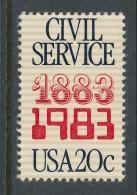 USA 1983 Scott  #  2053. Civil Service  MNH (**). - Nuevos