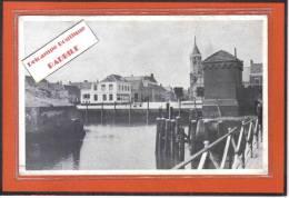 Carte Postale  Pays-Bas Willemstad  Hotel Belle Vue  Bonds-Hotel Très Beau Plan - Pays-Bas