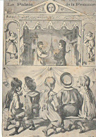 23831 1905 Souvenir Exposition Palais De La Femme -Paris ? Lyon - Guignol Cirque Enfant Dessin Theatre -sans Ed