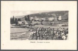 SPL 1912 NAPOLI PESCATORI IN AZIONE FP V SEE 3 SCANS ANIMATA INGRANDIMENTO - Napoli