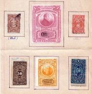 MEXICO 1875 - 6 Seltene Marken Siehe Scan - Mexiko