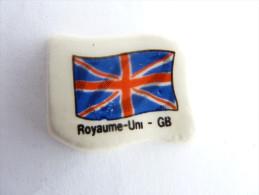 FEVE DRAPEAU  ANGLAIS - Marquage Royaume Uni - GB