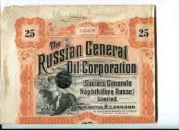 Russian Oil  Numero  C33629 - Russie