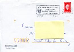 BPI 126 - Flamme Temporaire Exercice Interalliés - 03/05/2006 - R973 - Marcophilie (Lettres)