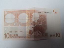 IRLANDE 10 EUROS  T5614..... 777 K007D5 DRAGHI  NEUF - 10 Euro