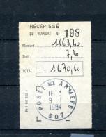 BPM 507 - Cachet à Date POSTE AUX ARMEES 507 - 09/01/1984 - R987 - Postmark Collection (Covers)