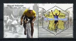 N° 3583 NEUF ** LE TOUR DE FRANCE Avec Vignette Miguel INDURAIN - Frankrijk