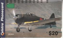 AUSTRALIA - World War II, Clasiic Fighters/Zero, Used - Aviones