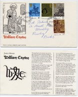 Echecs Lettre  Circule Angleterre Vers France 1976 Caxton Chess Letter England Travelled To France - Echecs