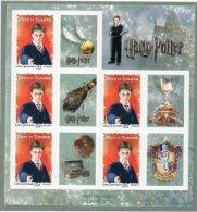 France 3305a Harry Potter 3 Sheets Of 5 Stamps + 5 Labels MNH Cv70.00