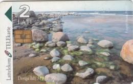LATVIA - Baltic Sea/Stones, Exp.date 31/12/99, Used - Latvia